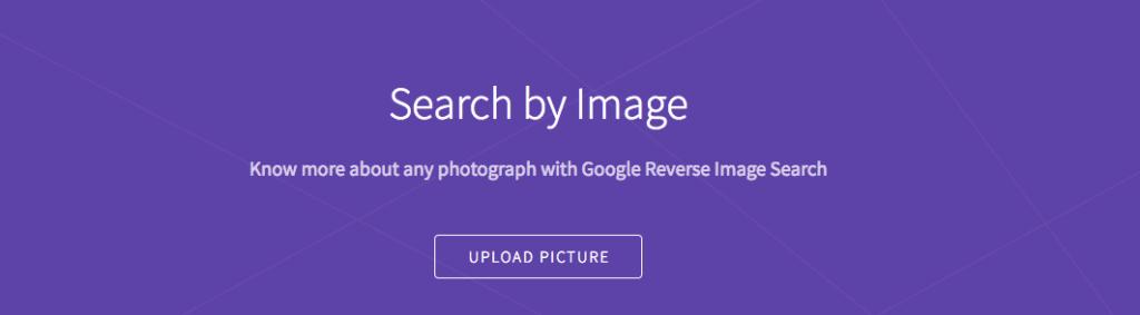 Google reverse imageのキャプチャー画像